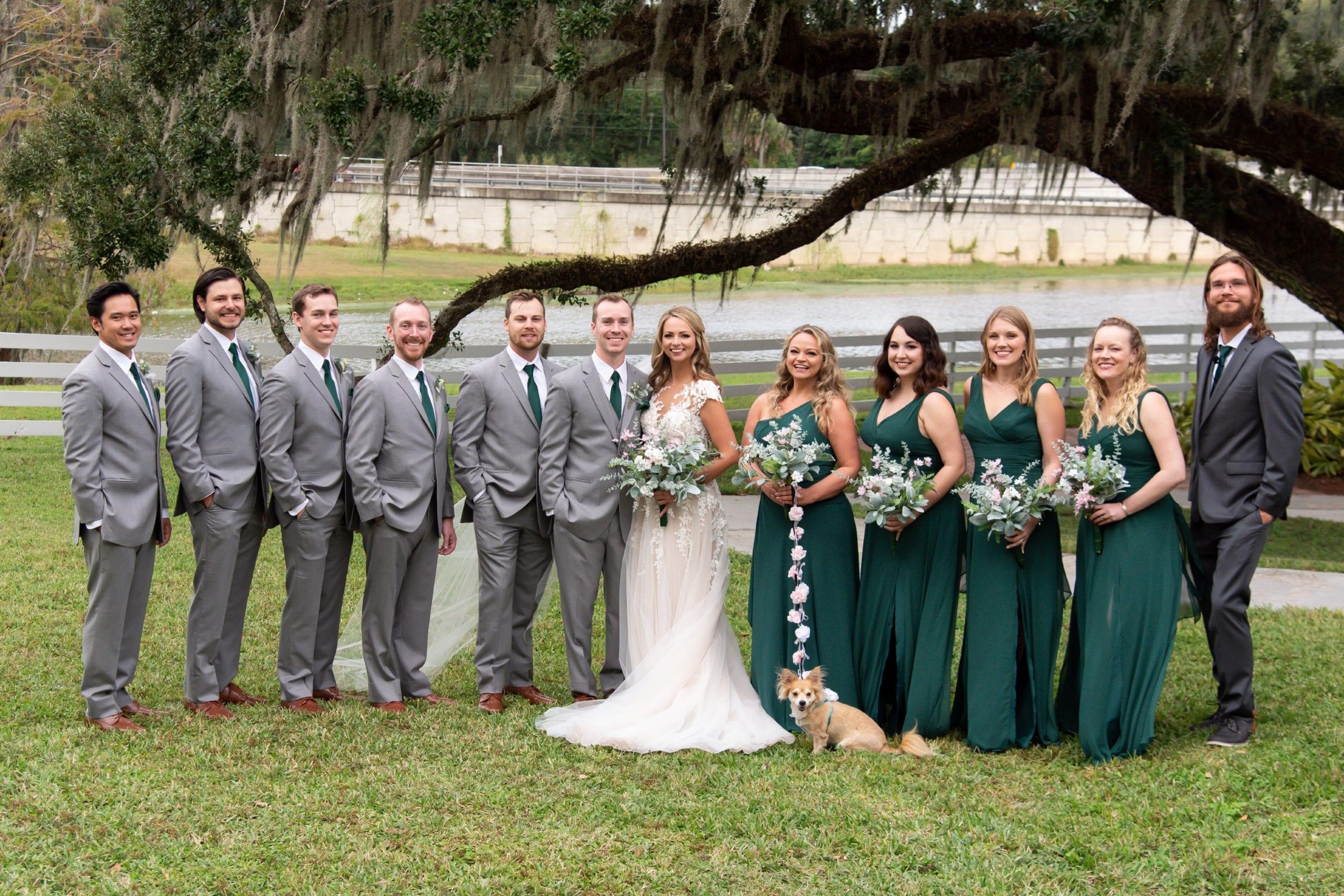 Winter wedding in Apopka Florida