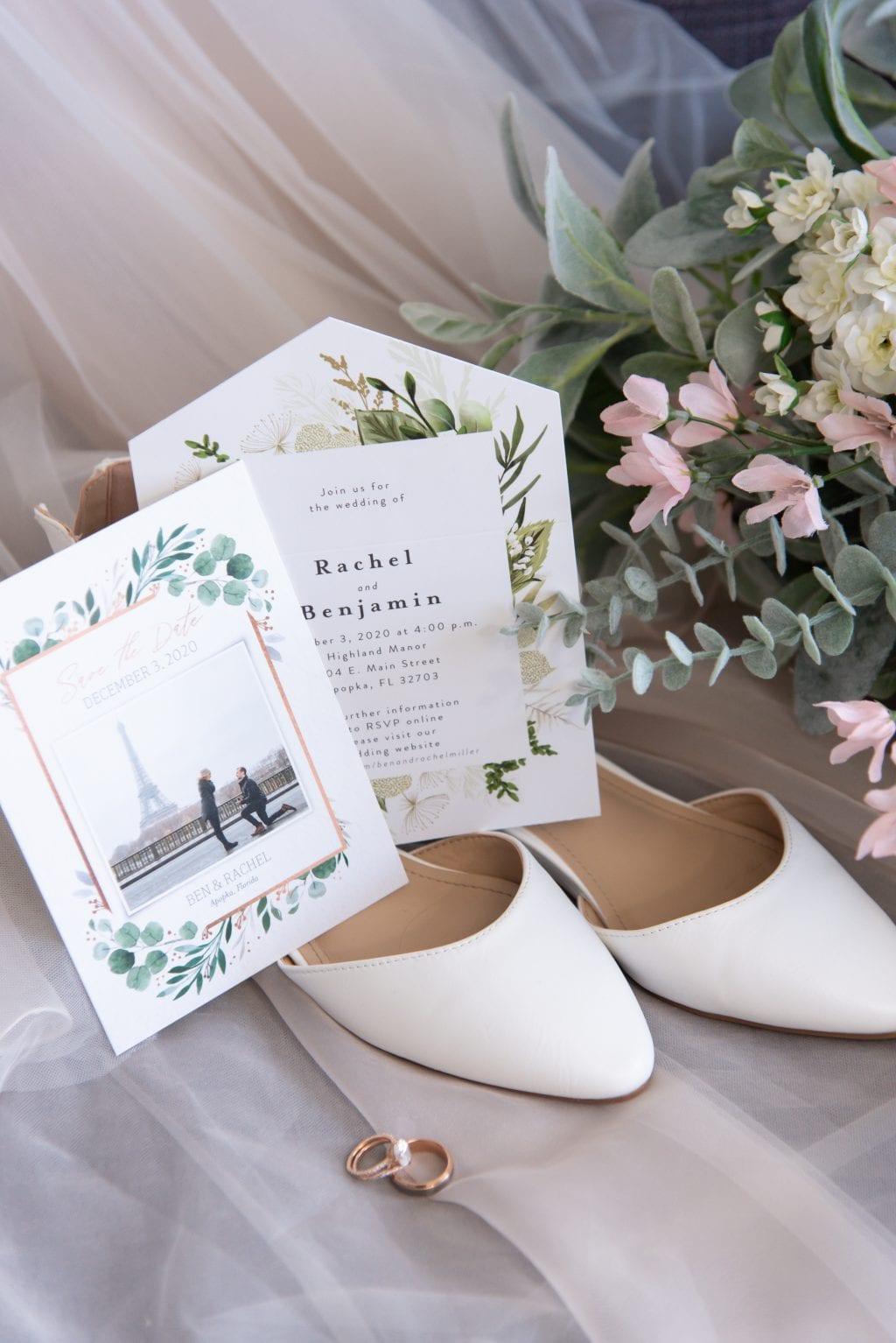 Apopka Wedding Invitation Photo Inspiration