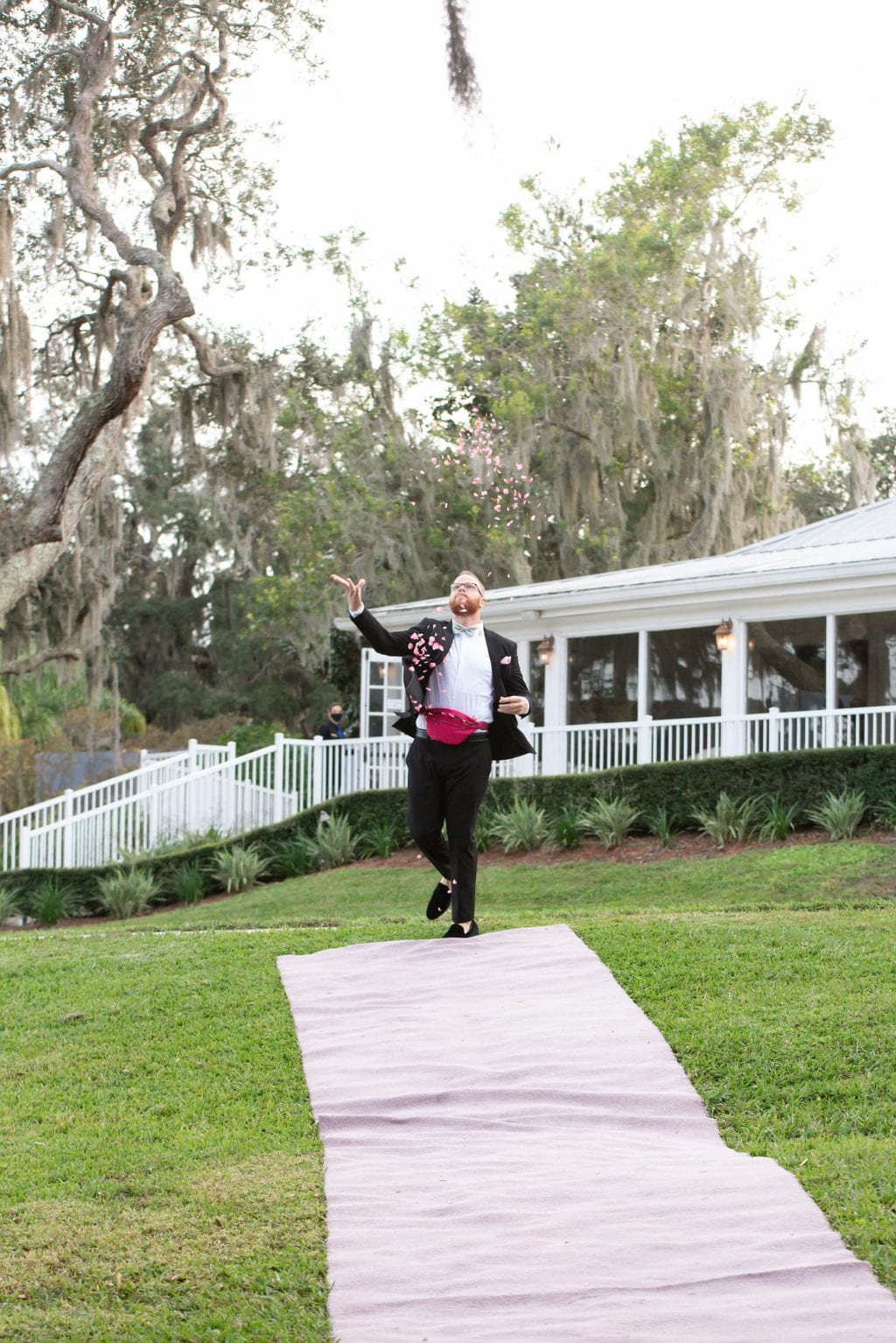 Flower Man Orlando Wedding