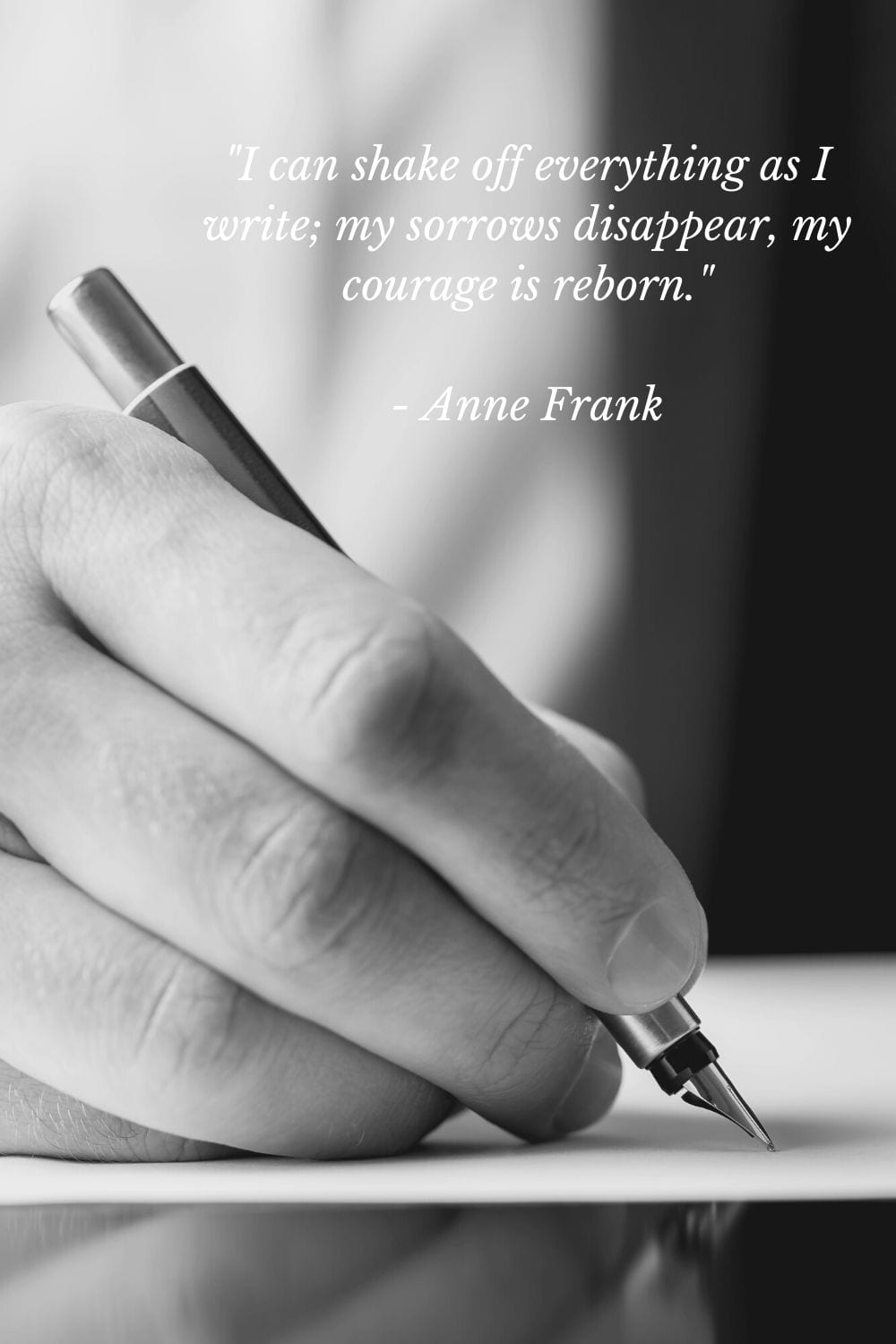 Anne Frank quote about courage